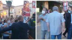 Sanitarios reciben con una cacerolada a Feijóo en Ourense y varios alcaldes del PP responden gritando