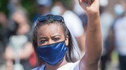 Manifestation à Montréal pour régulariser tous les