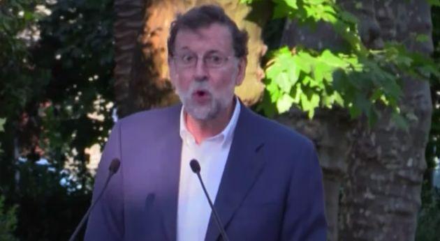 Mariano Rajoy, en Padrón (A