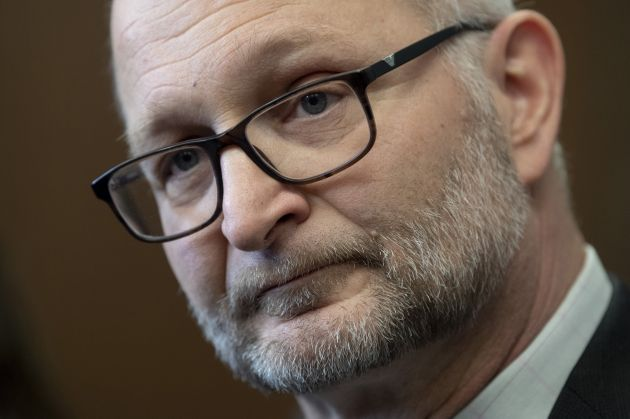 Minister of Justice and Attorney General of Canada David Lametti speaks with the media in Ottawa on Jan....