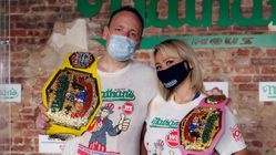 Nathan's Famous Hot Dog Eating Contest Gets A Coronavirus