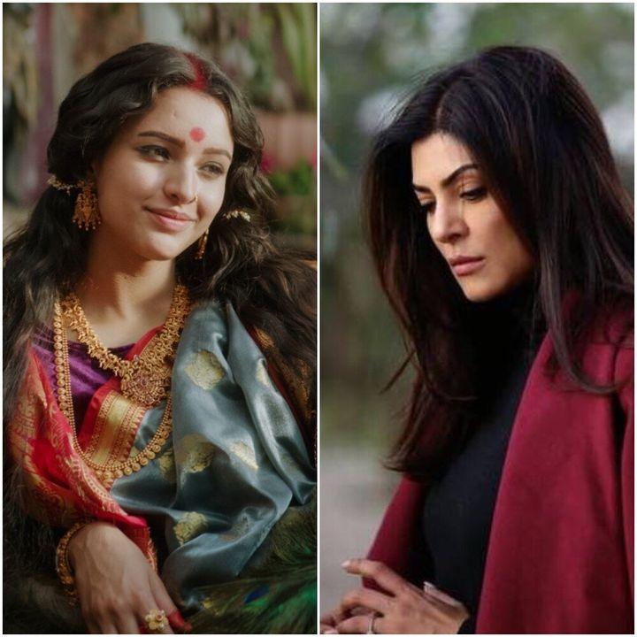 Tripti Dimri in Bulbbul and Sushmita Sen in Aarya