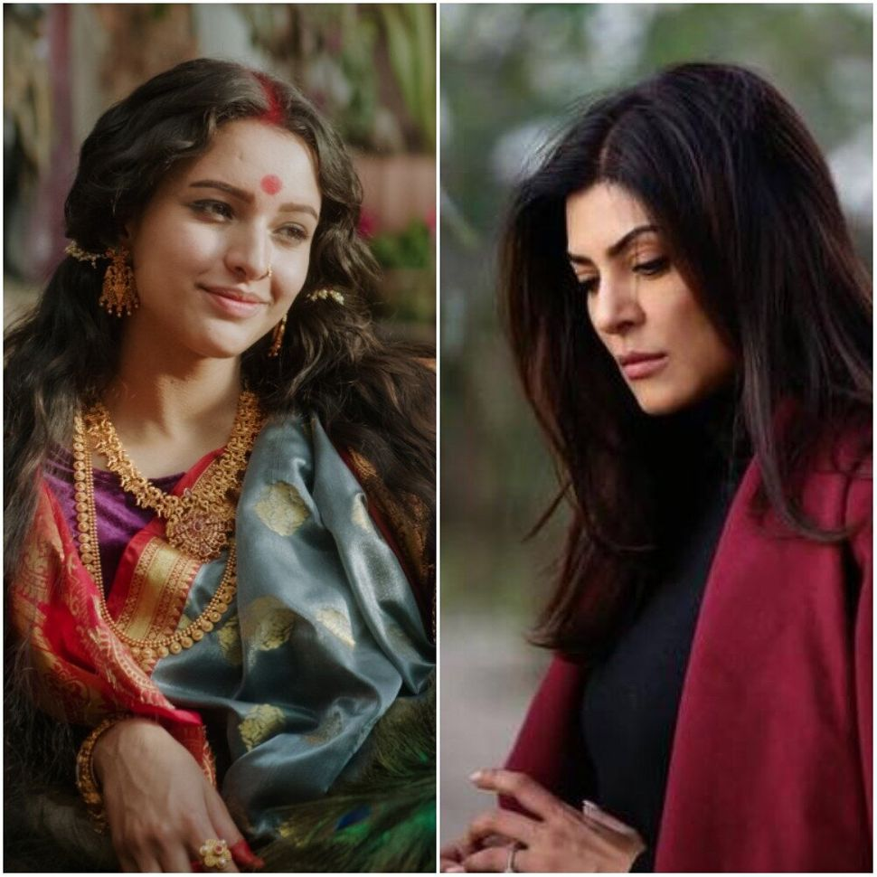 Tripti Dimri in Bulbbul and Sushmita Sen in Aarya