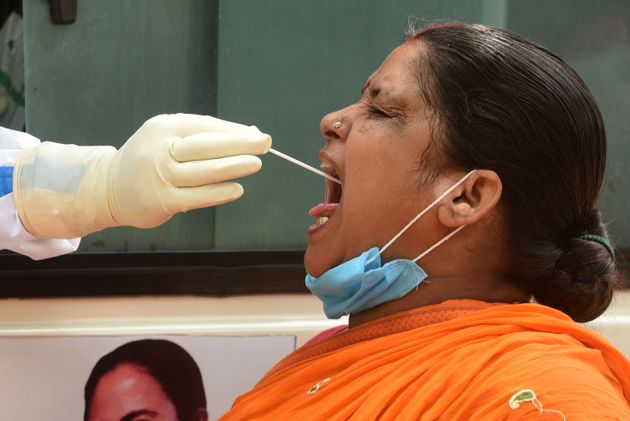At 24,850 Cases And 613 Deaths, India Records Highest Single Day COVID Spike So
