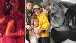 The Beckhams Treat Fans To Some Amazing Candid Family Photos In Honour Of Wedding