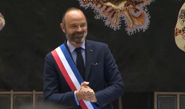 Edouard Philippe a été élu maire du Havre ce dimanche 5