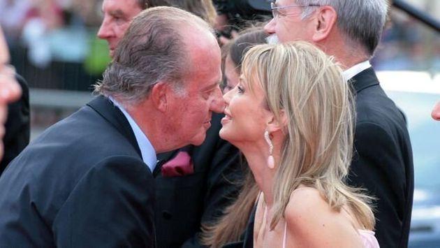 El rey Juan Carlos I y Corinna