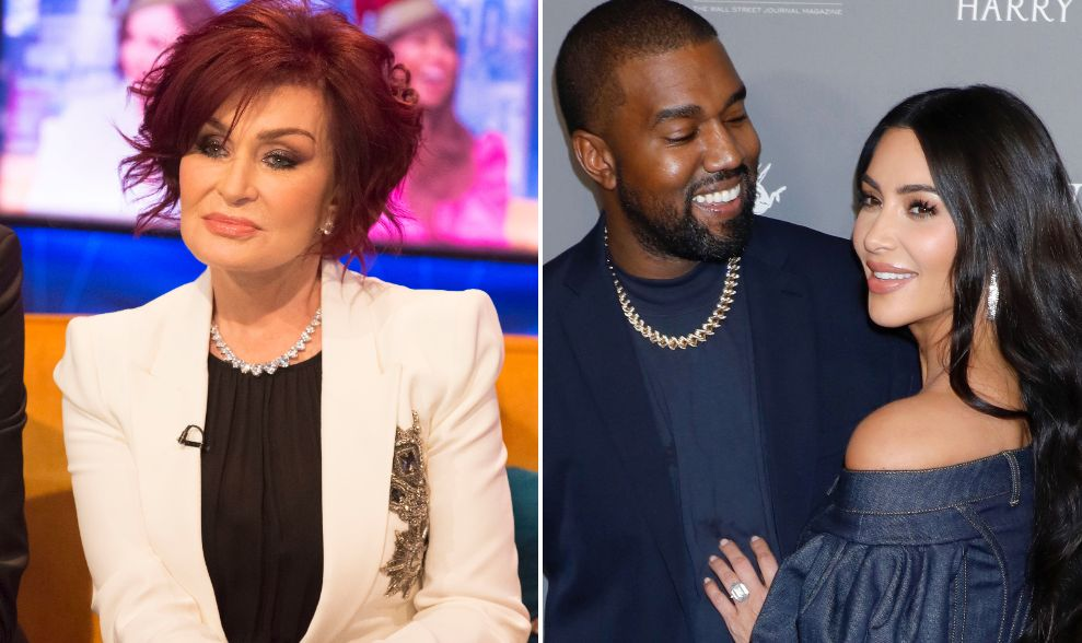 Sharon Osbourne Unimpressed By Kanye West's Tweet About Kim Kardashian's Billionaire Status