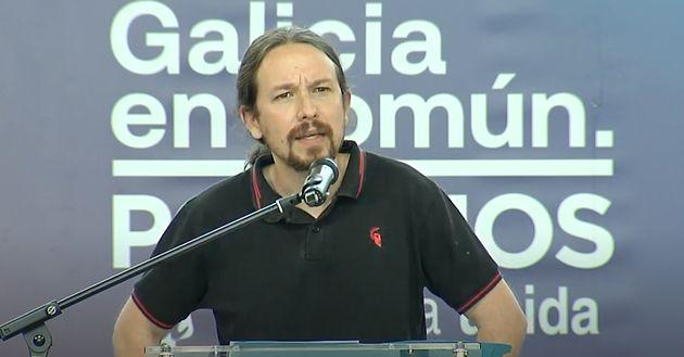Pablo Iglesias, líder de Podemos, en