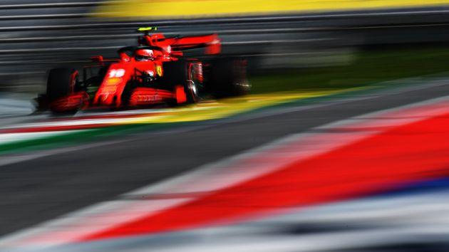 SPIELBERG, AUSTRIA - JULY 05: Charles Leclerc of Monaco driving the (16) Scuderia Ferrari SF1000 on track...