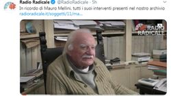 Addio a Mauro Mellini, tra i fondatori del Partito