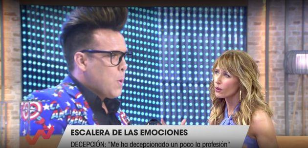 Emma García y 'Torito', en 'Viva La Vida'