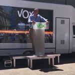 Ortega Smith (Vox) dice, en un mitin en el País Vasco, que el euskera es un
