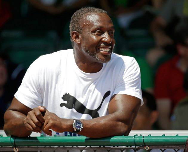 Footage of the incident was shared widely after it was posted by former Olympic champion Linford Christie...