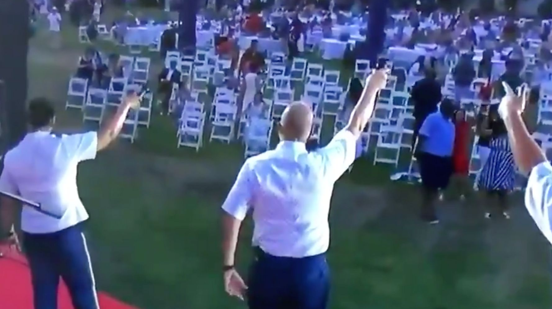 Performance To Empty Seats At Trump's July 4th Celebration Promptly Becomes A Meme