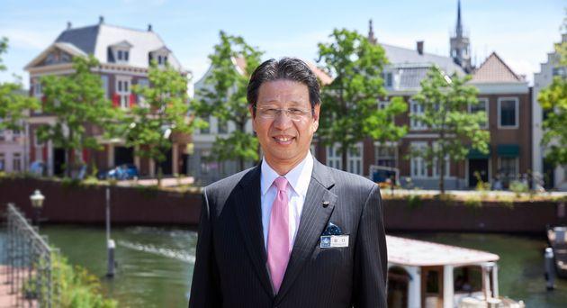 昨年5月からハウステンボス株式会社社長を務める、坂口克彦氏