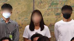 고 최숙현 선수가 가해자로 지목한 3인방이 국회에 출석해 한