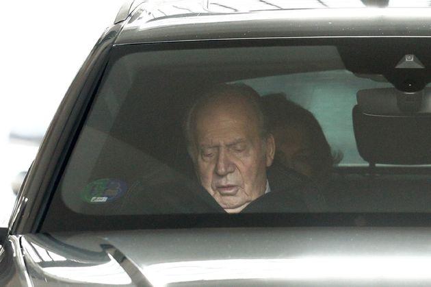 Juan Carlos I el pasado 29 de