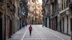 Pamplona vive su 6 de julio más extraño sin chupinazo de