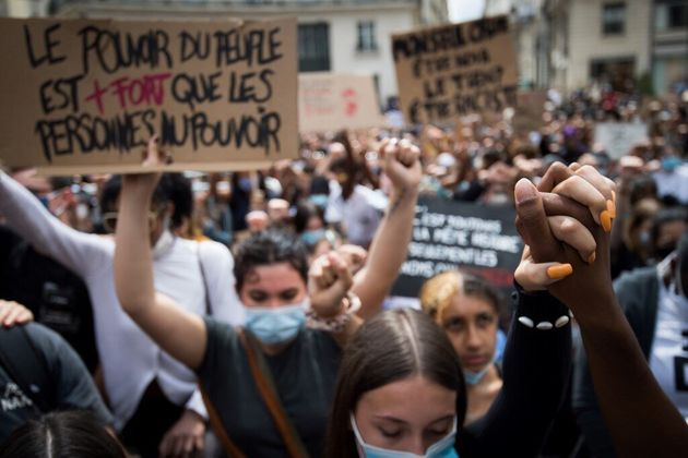 Une manifestation contre le racisme et les violences policières à Nantes, le 8 juin