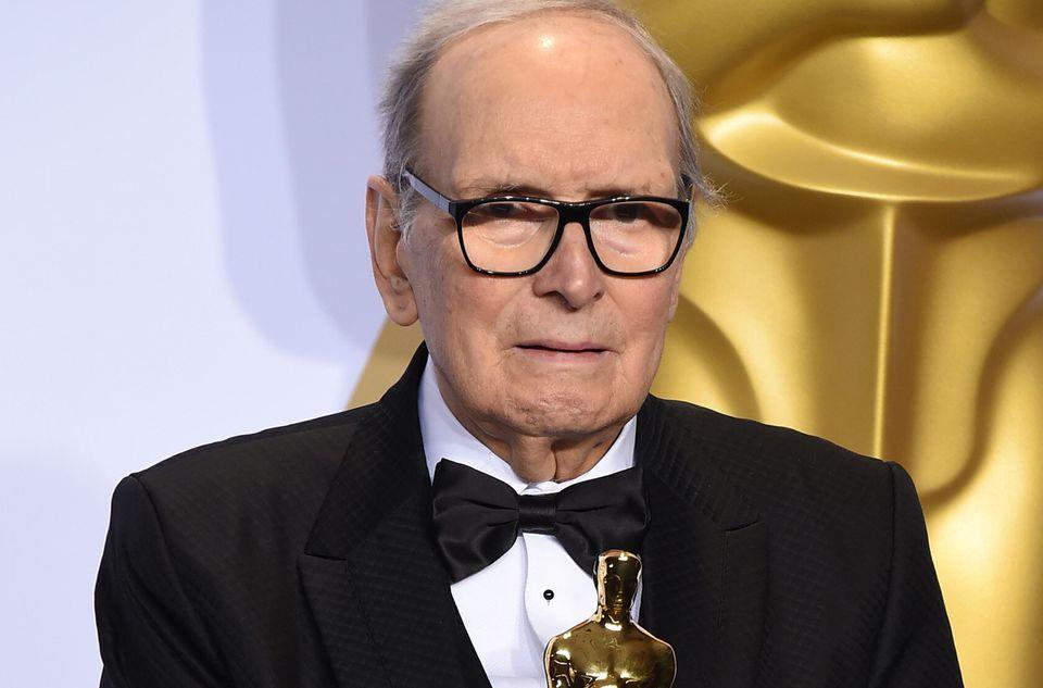 "Oscar-winning movie composer Ennio Morricone, who produced more than 400 original scores for feature films, including """