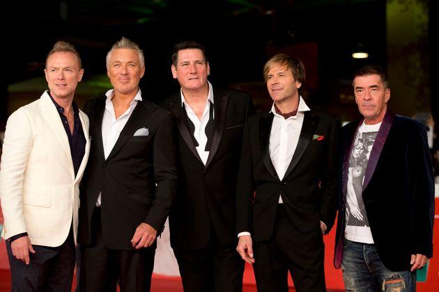 Members of Spandau Ballet, from left, Gary Kemp, Martin Kemp, Tony Hadley, Steve Norman and John Keeble...