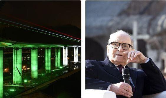 L'ultimo brano di Ennio Morricone scelto per l'inaugurazione del nuovo Ponte di