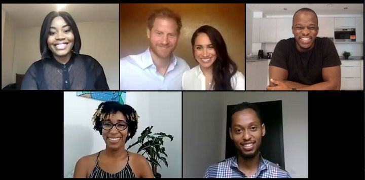In the special session last week, Queen's Commonwealth Trust was joined by the Duke and Duchess alongside Chrisann Jarrett, t