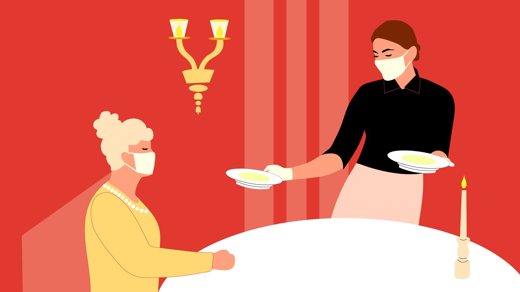 Yes, You Can Dine At Reopened Restaurants. But Is It Ethical?