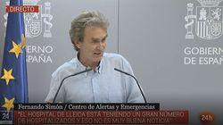 Fernando Simón al 100%: su sorprendente respuesta cuando le preguntan por las elecciones