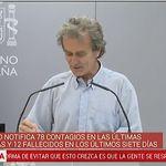 Fernando Simón, a esta pregunta sobre su hijo: