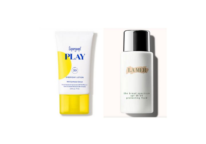 We compared Supergoop and La Mer sunscreens.
