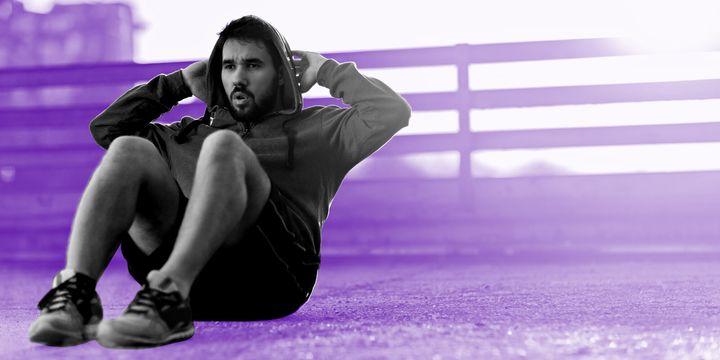 생각보다 많은 사람들이 운동할 때 스트레스를 느낀다.