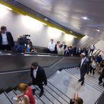 Εγκαινιάστηκαν οι τρεις σταθμοί του μετρό Νίκαια, Κορυδαλλός, Αγία