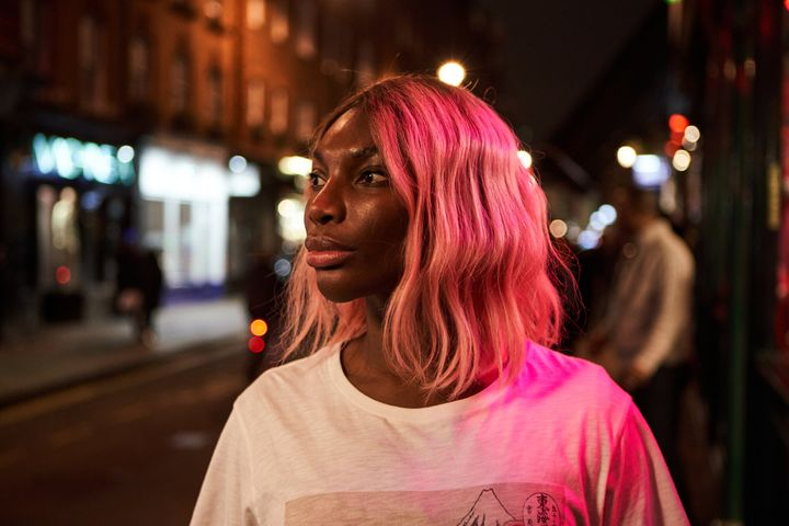 "Michaela Coel in ""I May Destroy You."""
