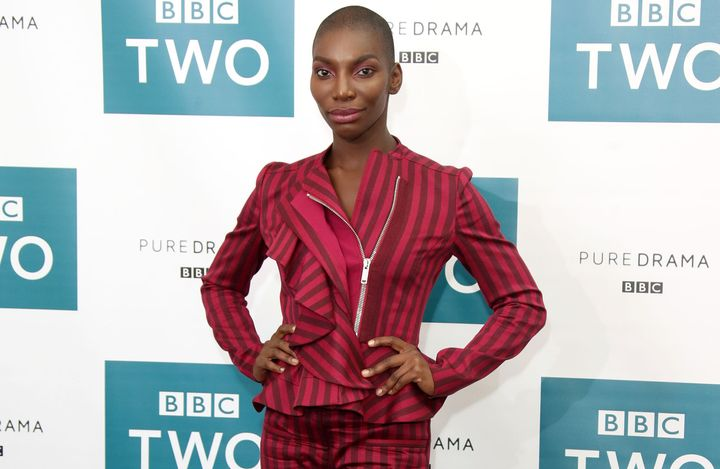 Michaela Coel at BAFTA on August 1, 2018 in London.