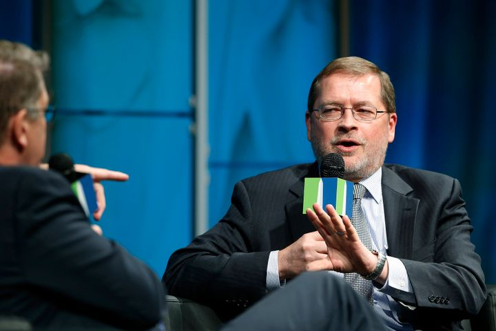 "For decades, Grover Norquist has crusaded against ""big government."" But in the hard times created by the coronavirus pandemic"