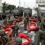 福岡で避難所2カ所が孤立 県が自衛隊に災害派遣を要請