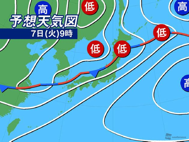 今日7月7日の天気  九州や東海は猛烈な雨続く 氾濫や土砂災害に厳重警戒を