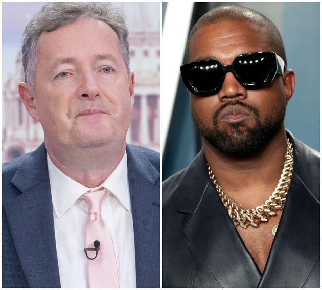 Piers Morgan and Kanye