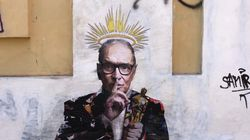 Roma amanece con un mural en homenaje al compositor Ennio
