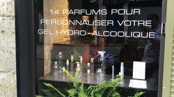 Ce bar à gel hydroalcoolique parfumé a fermé, voici