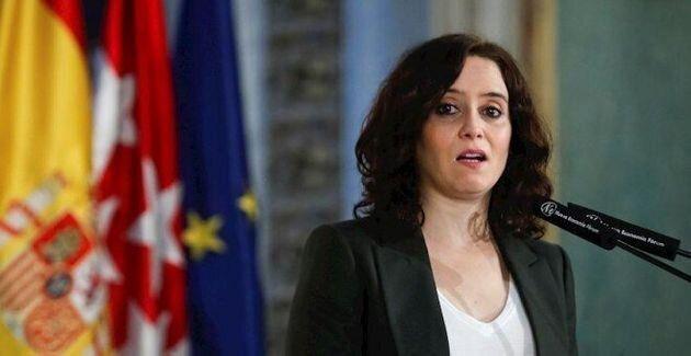 La presidenta madrileña Isabel Díaz