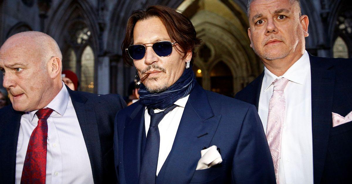 Comienza el juicio de Johnny Depp contra el diario británico 'The Sun' por difamación
