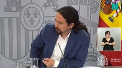 Los dos insultos que Pablo Iglesias ha leído sobre Vicente Vallés: