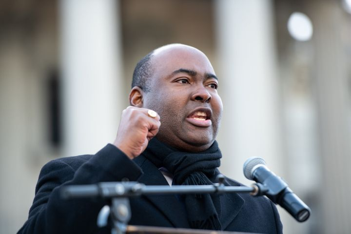 Democratic candidate Jaime Harrison, who is running to oust Republican Rep. Lindsey Graham in South Carolina, revealed that h