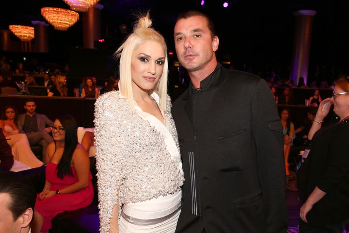 Recording artists Gwen Stefani and Gavin Rossdale attend the People magazine awards ceremony on Dec. 18, 2014, in Beverly Hil