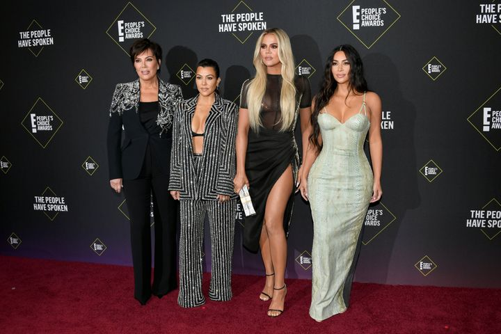 The Kardashians in November 2019.