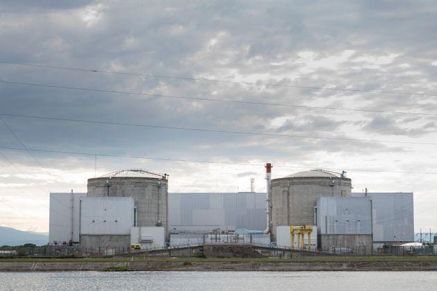 La centrale nucléaire de Fessenheim (Haut-Rhin), le 26 juin