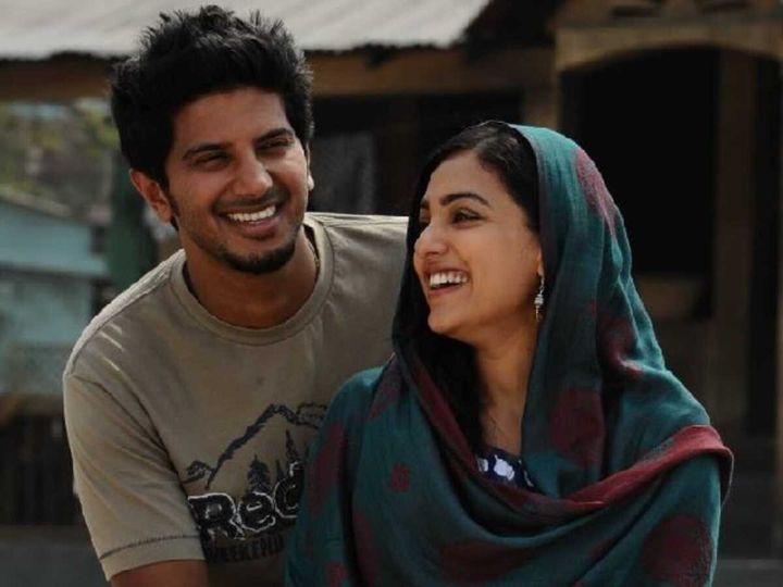 Dulquer Salmaan and Nithya Menen in Ustad Hotel